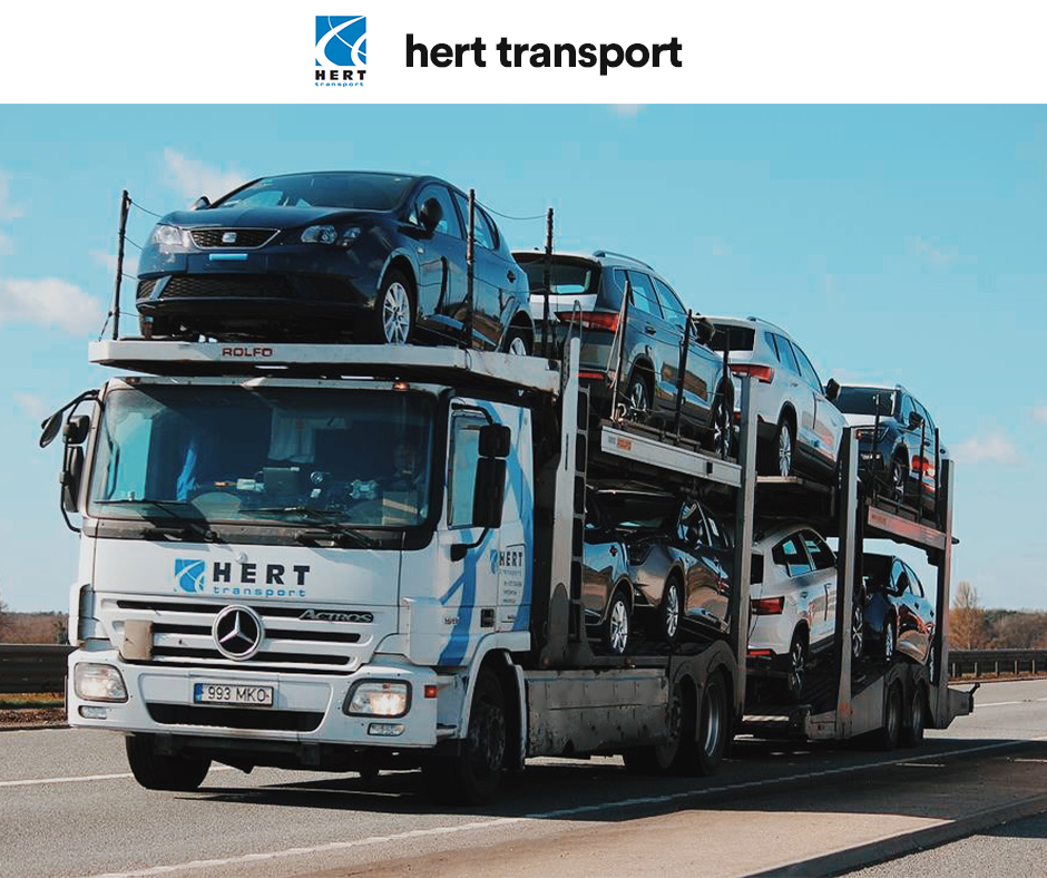 Cargo Expedition by Hert-Transport at Helsinki