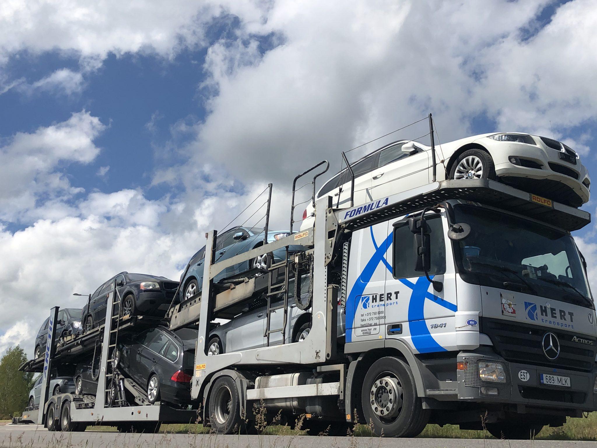 Автомобильные перевозки и перевозки по Европе - HERT Transport