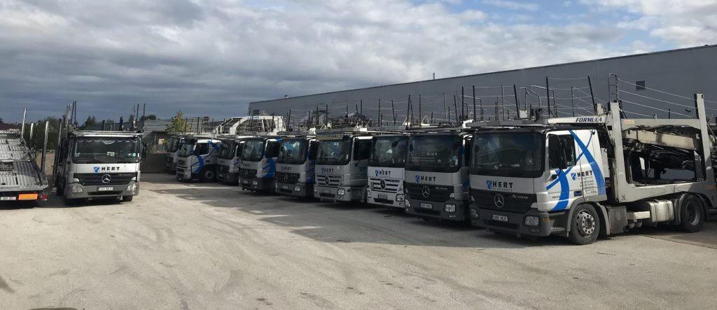Cargo expedition partners of Hert Transport