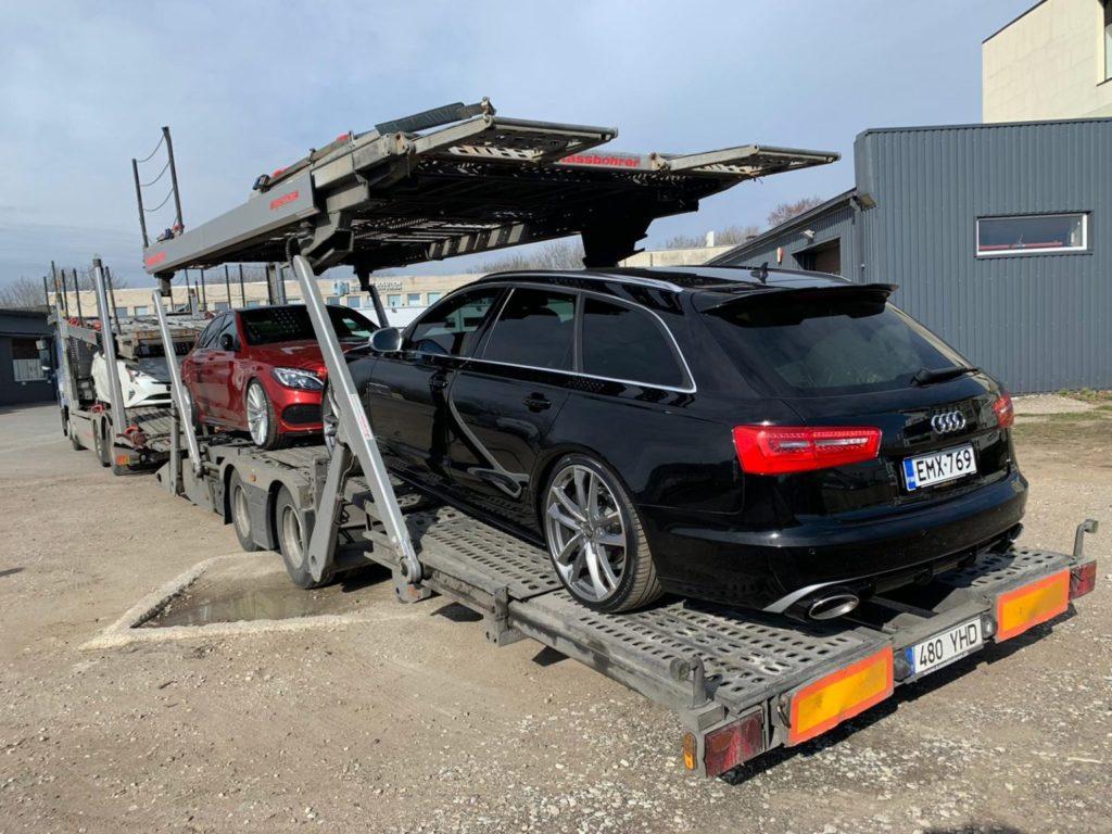 Cargo expedition in Nuremburg, Germany